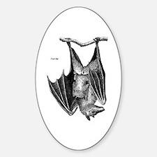 Fruit Bat Oval Decal