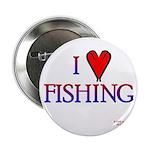 I Love Fishing (hook heart) 2.25