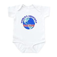 World's Greatest Pastor (E) Infant Bodysuit
