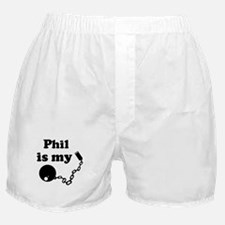 Phil (ball and chain) Boxer Shorts