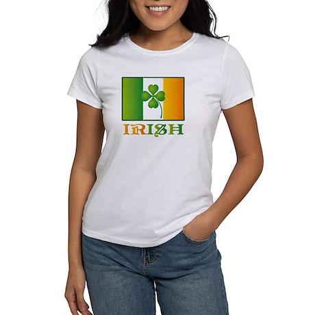 Lucky Irish Flag Women's T-Shirt