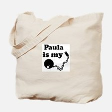 Paula (ball and chain) Tote Bag