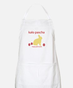 """HAPPY GREEK EASTER"" BBQ Apron"