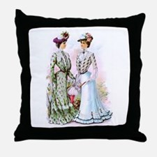 A Chat Throw Pillow