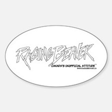 Raging Beaver Classic Logo Oval Decal
