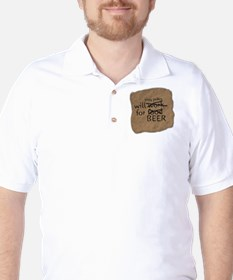 Will play poker for beer T-Shirt