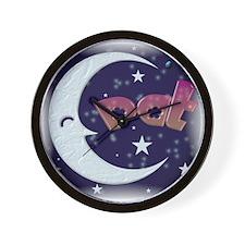 Celestial Pat  Wall Clock