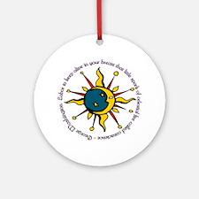 GW Quote Ornament (Round)