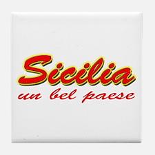 Sicilia Tile Coaster