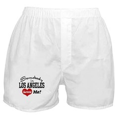 Somebody In Los Angeles Loves Me Boxer Shorts