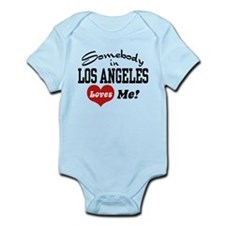 Somebody In Los Angeles Loves Me Infant Bodysuit