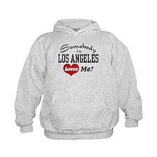 Somebody In Los Angeles Loves Me Hoodie