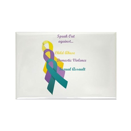 Speak Out Rectangle Magnet