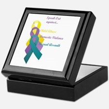 Speak Out Keepsake Box
