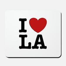 I Love LA Mousepad
