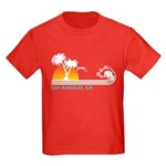 Los Angeles, CA Kids Dark T-Shirt