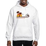 Los Angeles, CA Hooded Sweatshirt