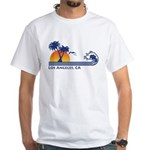 Los Angeles, CA White T-Shirt