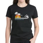 Los Angeles, CA Women's Dark T-Shirt