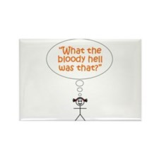 Cute Singing competition Rectangle Magnet