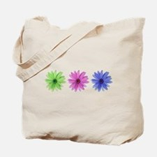 3 color daisies Tote Bag
