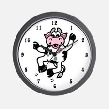 Happy Cow Wall Clock