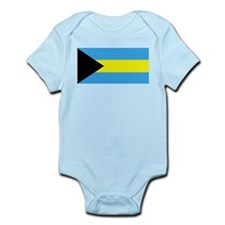 Bahamas Flag Infant Creeper