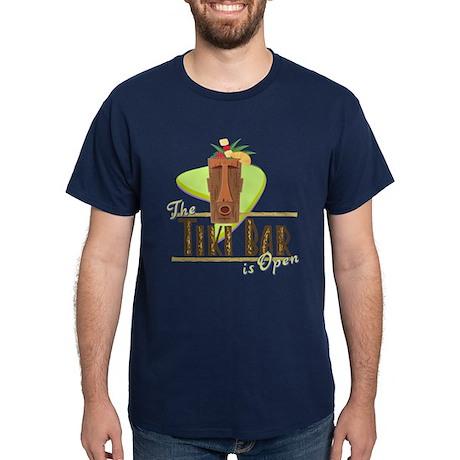 The Tiki Bar is Open - Dark T-Shirt