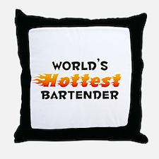 World's Hottest Barte.. (B) Throw Pillow