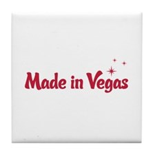 Made in Vegas Tile Coaster
