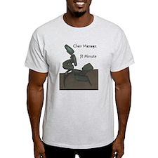 Chair Massage $1 Minute T-Shirt