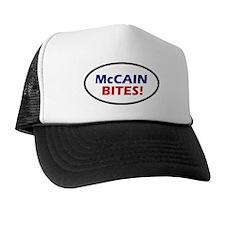 McCain Bites! Oval Trucker Hat