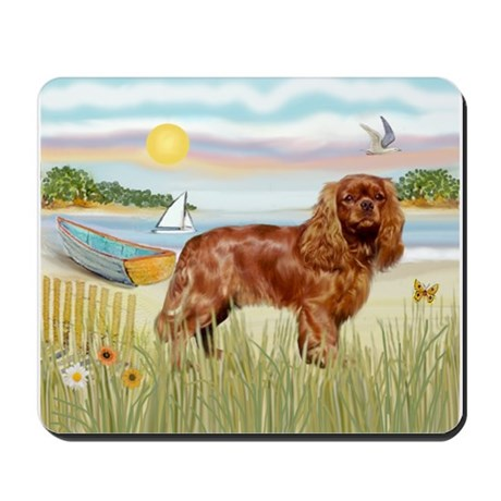 Cavalier Rowboat Mousepad