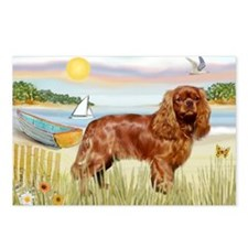 Cavalier Rowboat Postcards (Package of 8)