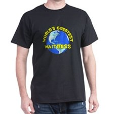 World's Greatest Waitr.. (D) T-Shirt