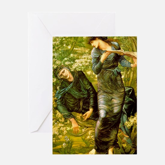 Beguiling of Merlin Greeting Card