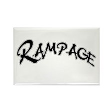 Rampage Rectangle Magnet