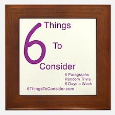 6 Things to Consider Framed Tile