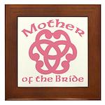 Celtic Knot Bride's Mother Framed Tile