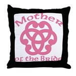 Celtic Knot Bride's Mother Throw Pillow