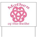 Celtic Knot Bride's Mother Yard Sign
