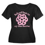 Celtic Knot Bride's Mother Women's Plus Size Scoop