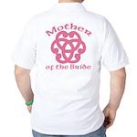 Celtic Knot Bride's Mother Golf Shirt