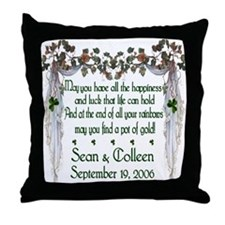 Wedding Sample 2 Throw Pillow