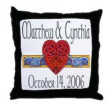 Celtic Loveknot Throw Pillow