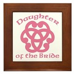 Celtic Knot Bride's Daughter Framed Tile