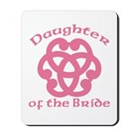 Celtic Knot Bride's Daughter Mousepad