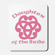 Celtic Knot Bride's Daughter Mousepad
