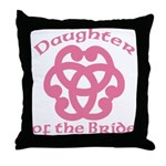 Celtic Knot Bride's Daughter Throw Pillow