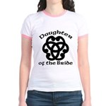 Celtic Knot Bride's Daughter Jr. Ringer T-Shirt